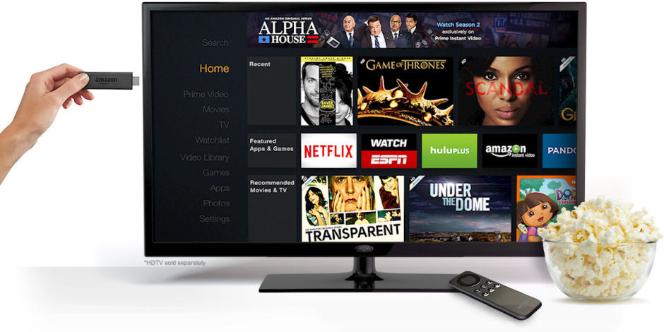 Fire TV Stick is available to pre-order now. Photo: Amazon