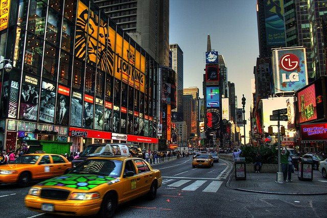 Times Square's new billboard is as long as a football field, and Google's its first customer