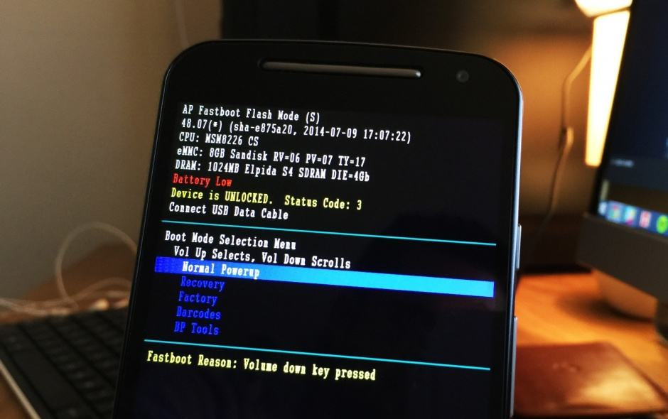 Cult of Android - How to unlock the bootloader of your 2014