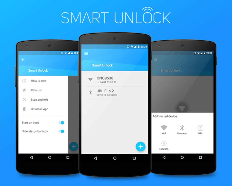 Smart Unlock is just $0.99 on Google Play. Photo: Hazex