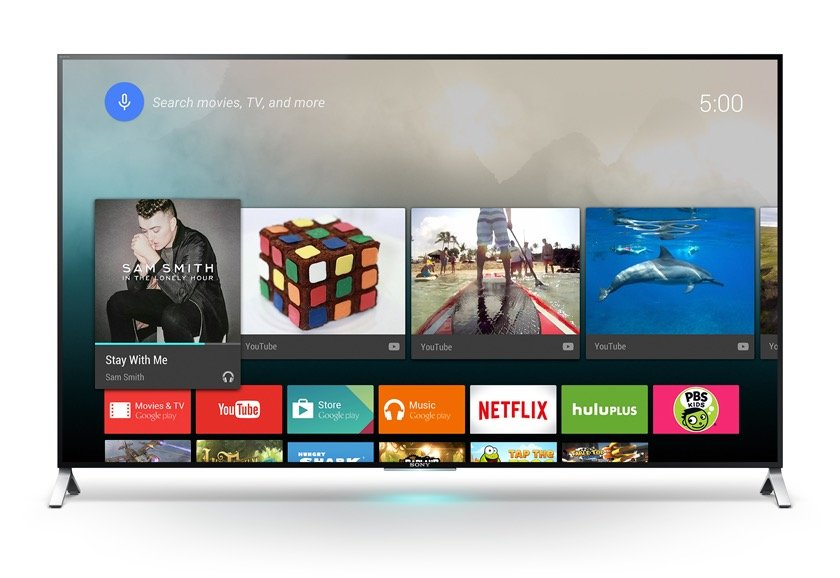 Android TV now plays with iOS. Photo: Sony