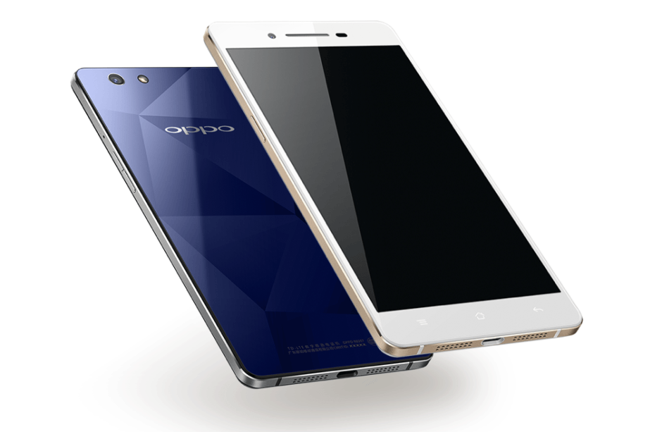 The RC1 looks a lot like an iPhone. Photo: Oppo