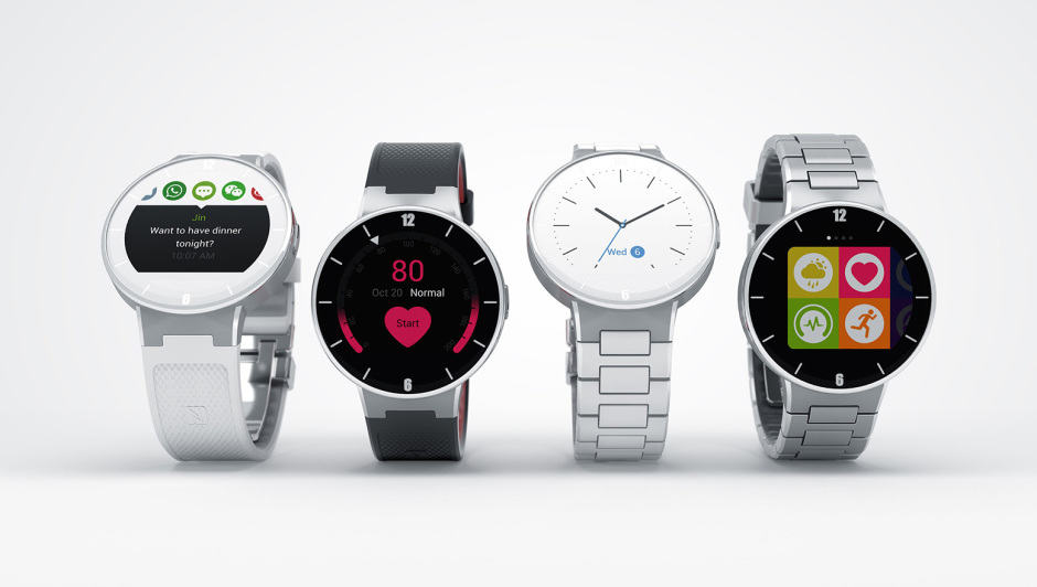 WATCH will work with iOS as well as Android. Photo: Alcatel Onetouch