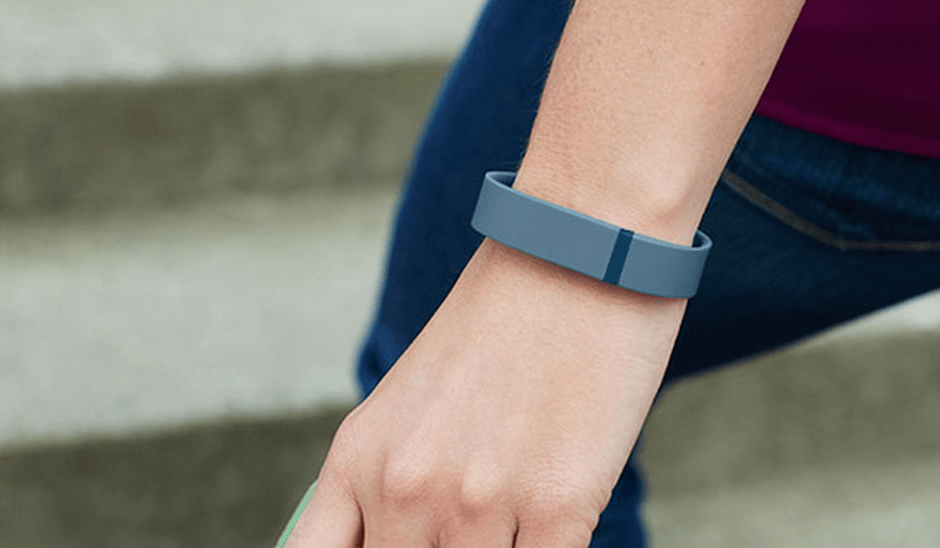 The Fitbit Flex is just one of the wearables you can try with Lumoid. Photo: Fitbit