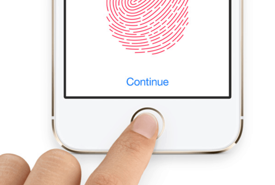 The Nexus 6 could have had a fingerprint scanner just like the iPhone's. Photo: Apple