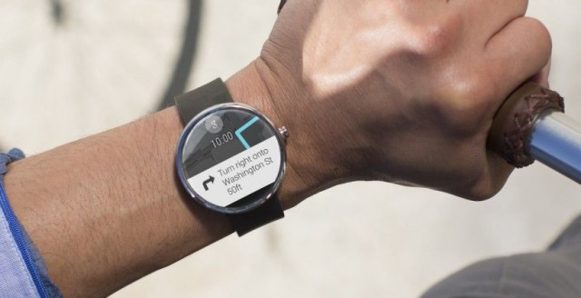 Android Wear is set to get gesture controls with Google's next update. Photo: Motorola