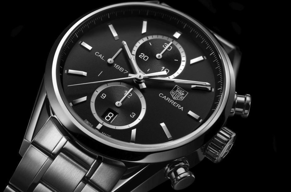 TAG's Android Wear watch is to be based on the stunning Carrera. Photo: TAG