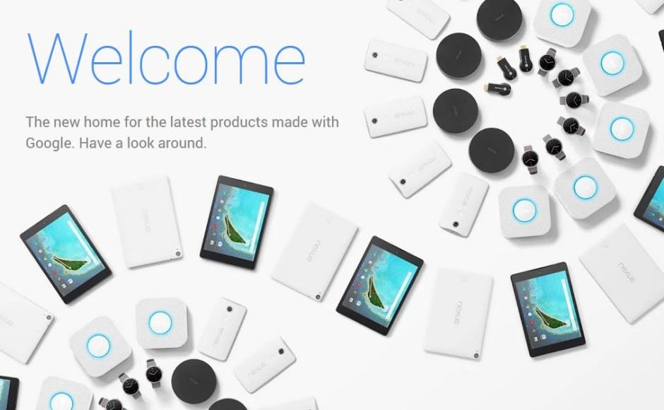 Welcome to the Google Store. Screenshot: Cult of Android