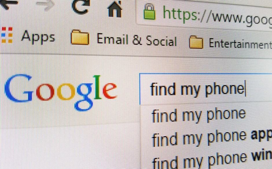 You can now use Google to locate your Android devices. Photo: Killian Bell/Cult of Android