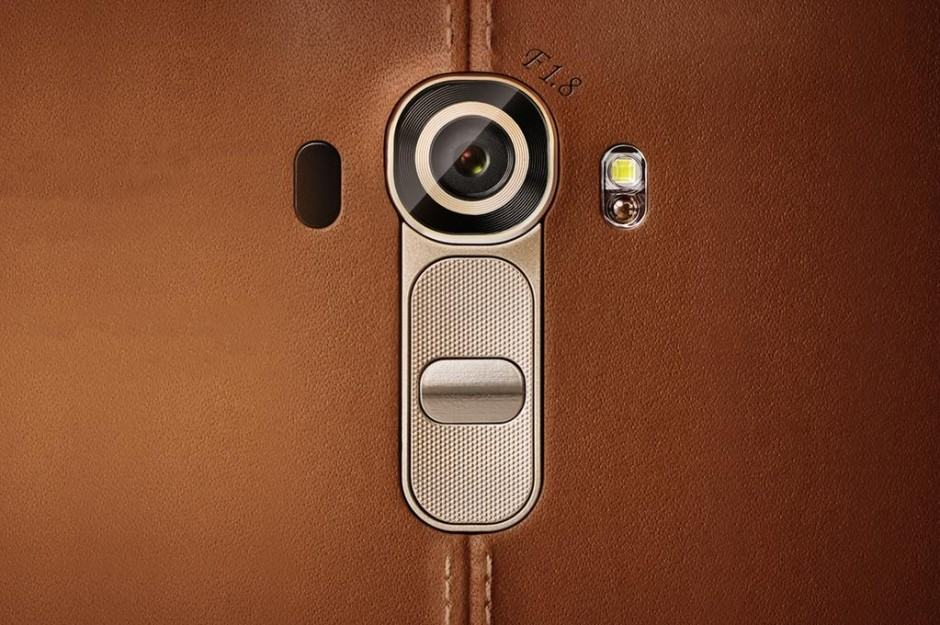 The LG G4 is to come with an f/1.8 aperture. Photo: LG