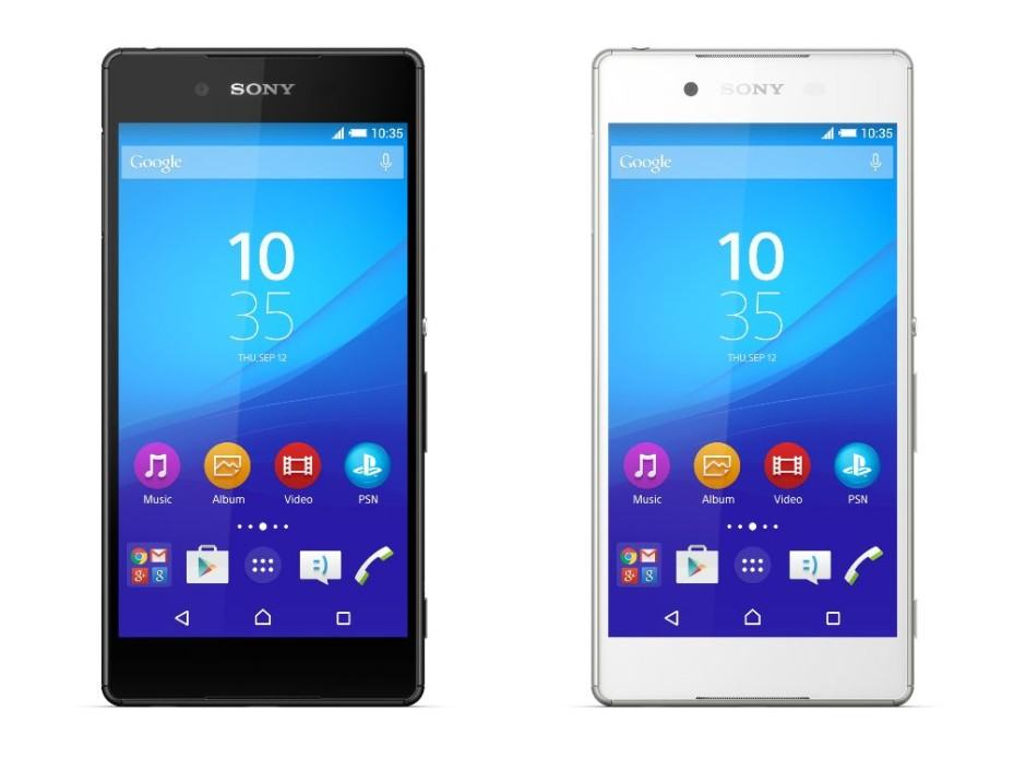The Sony Xperia Z4 is official. Photo: Sony