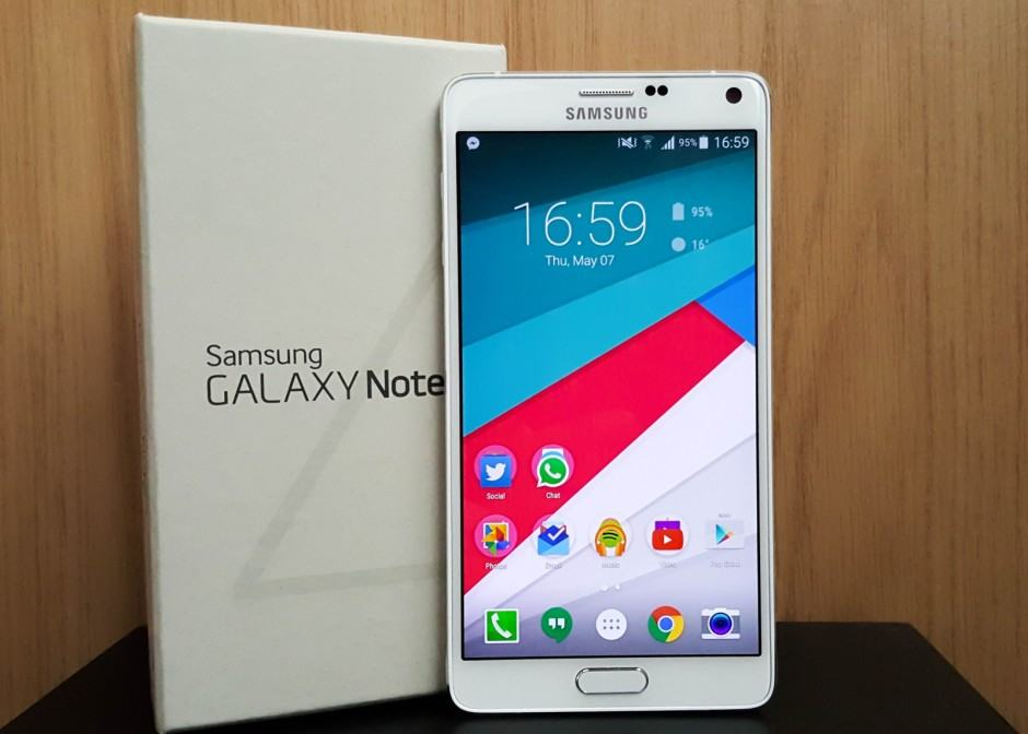 The Galaxy Note 5 will bring big changes. Photo: Killian Bell/Cult of Android