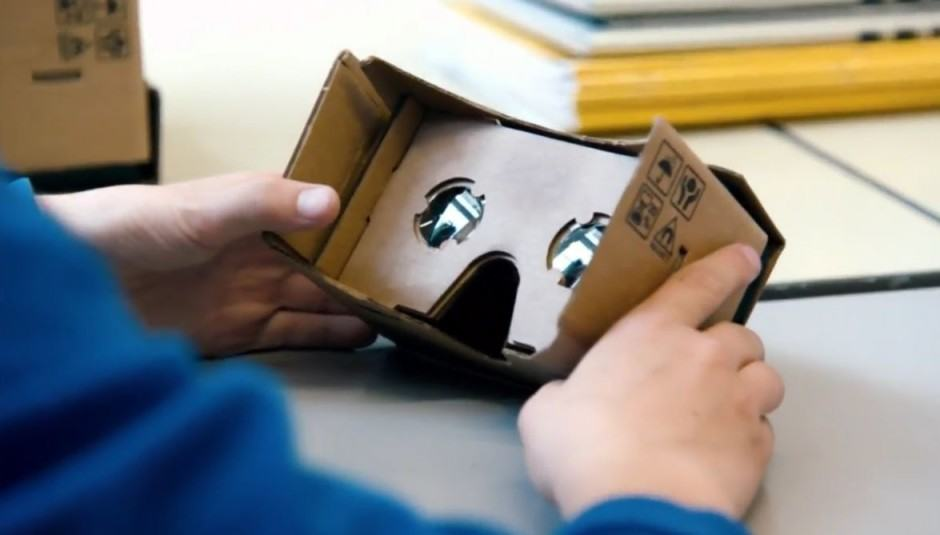 Cardboard is about to get even better. Photo: Google