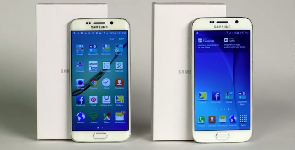 The Galaxy S5 nexts to the Galaxy S6. Photo: Consumer Reports