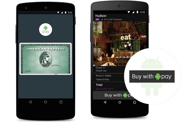 Android Pay is ready to take on Apple Pay. Photo: Google