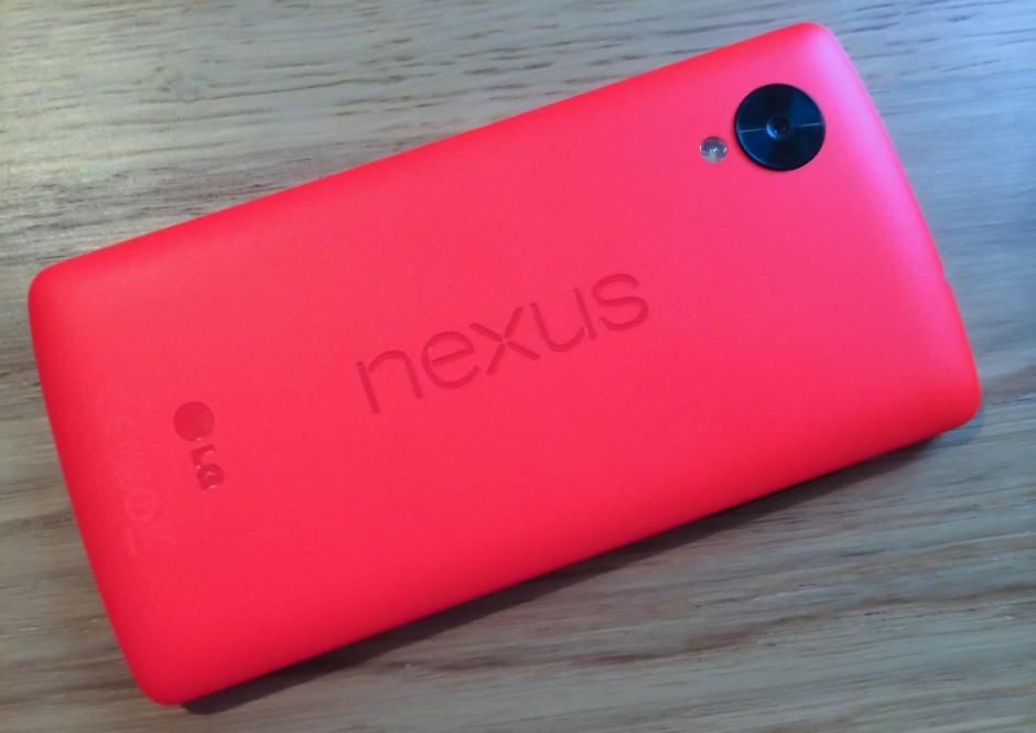 LG's Nexus 5 was a big hit. Photo: Killian Bell/Cult of Android