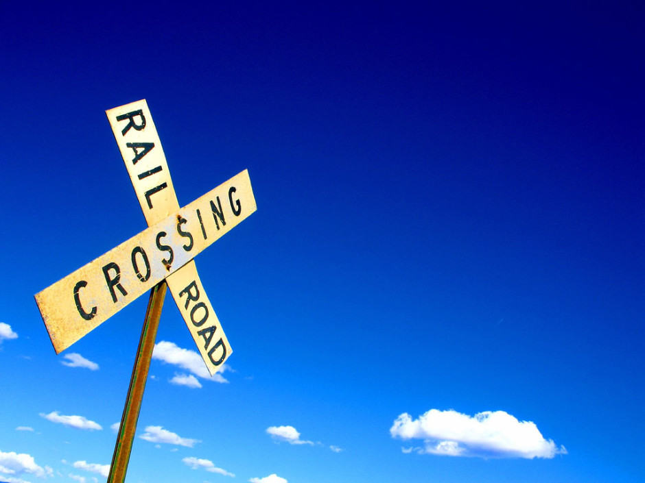 Google Maps will have alerts for all rail crossings in the U.S. Photo: Flickr/Mike Brown (CC)