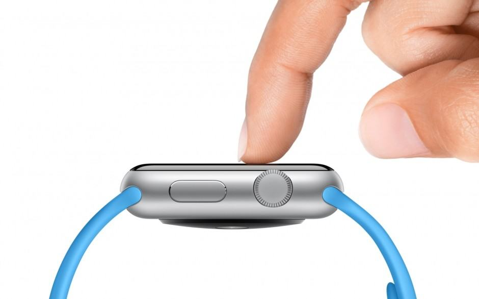 Force Touch on the Apple Watch. Photo: Apple