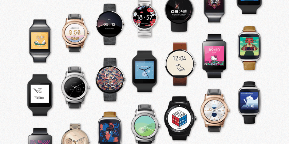 Android Wear's awesome collection of faces keeps on growing. Photo: Google