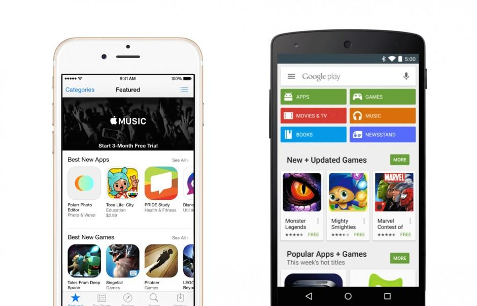 The App Store continues to rule in revenue. Photo: Cult of Android