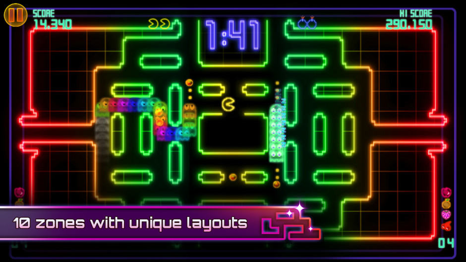 Eat the world right from your smartphone or tablet with Pac-Man CE DX.