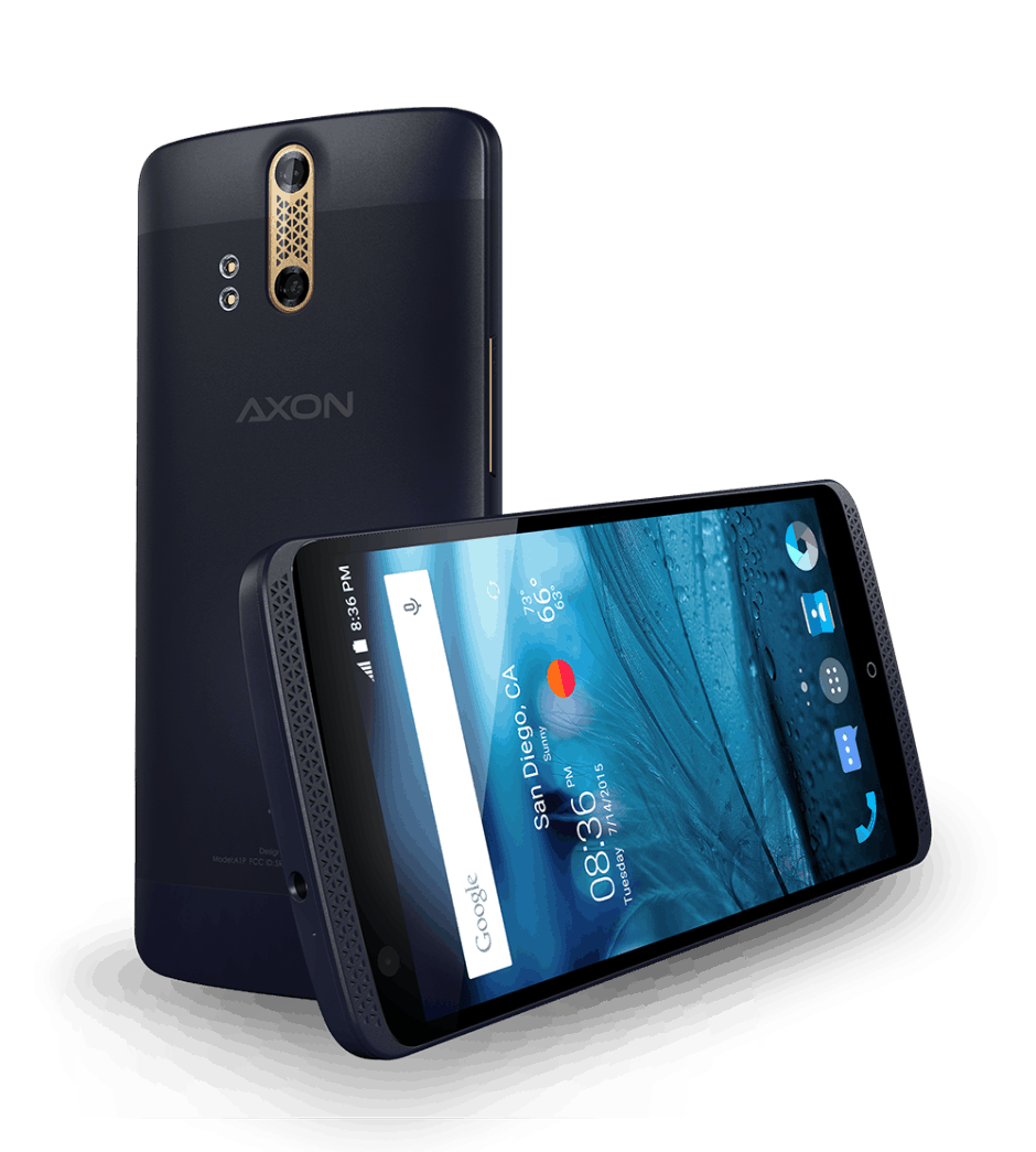 The ZTE Axon is a powerhouse. Photo: ZTE.