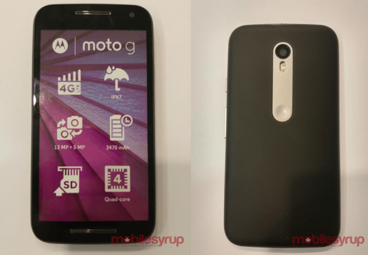 More leaked pics of the new Moto G confirm water-resistant form factor. Photo: MobileSyrup