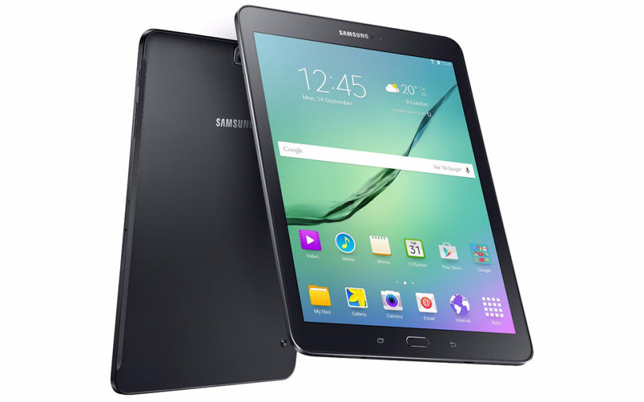 The Galaxy Tab S2 measures just 5.6mm thick. Photo: Samsung