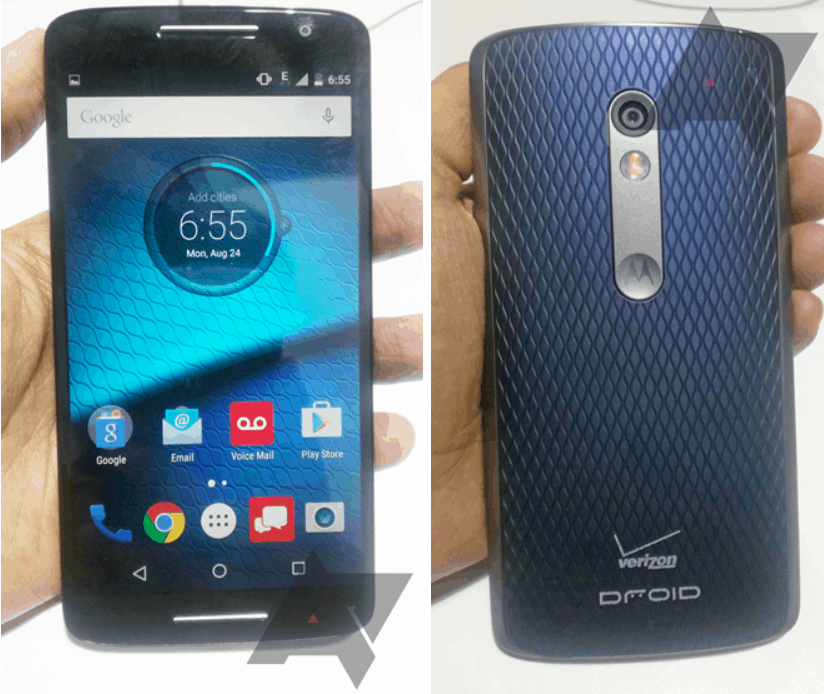 The Moto X Play gets a new name for Verizon. Photo: Android Police