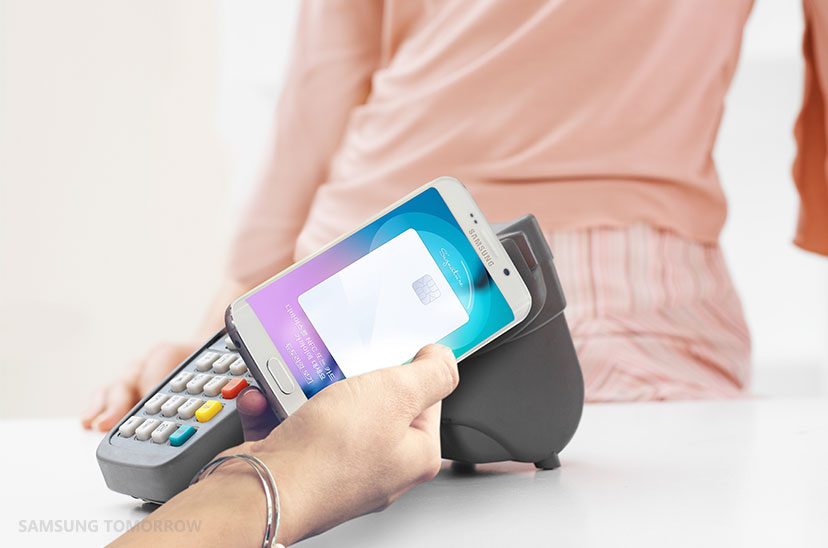 Has Visa Europe blocked Samsung Pay's biggest advantage over Apple Pay? Photo: Samsung