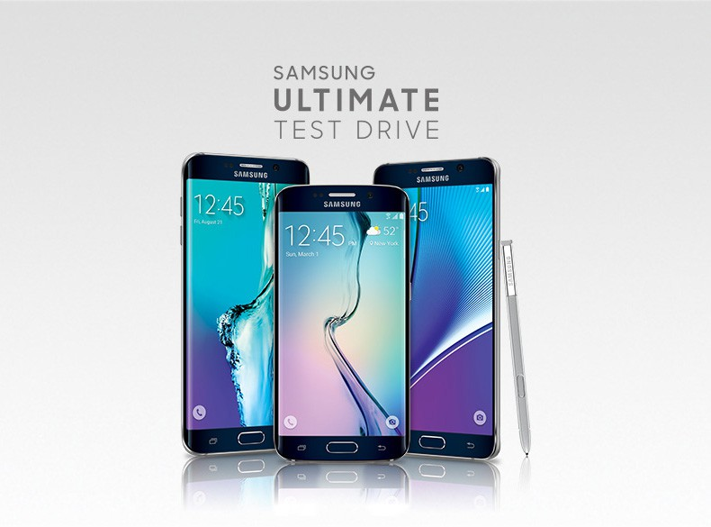 Try Samsung's latest smartphones for free. Photo: Samsung