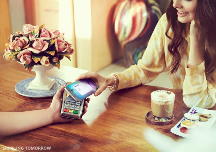 Samsung Pay will expand next year. Photo: Samsung