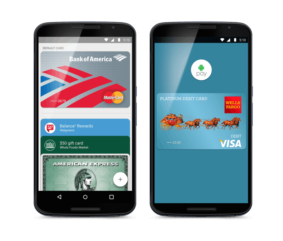 Android Pay is expanding its reach. Photo: Google