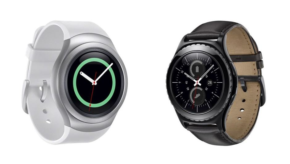 Gear S2 and Gear S2 classic hope to appeal to traditional watch wearers. Photo: Samsung