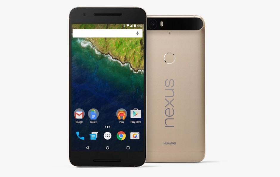 You won't be getting your hands on the gold Nexus 6P. Photo: Google