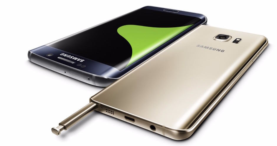Samsung Galaxy S6 Edge and Note 5