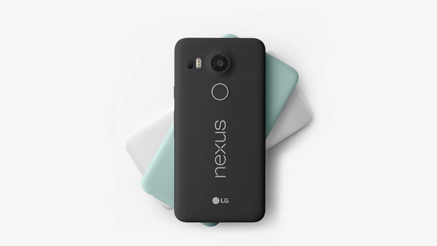 Nexus 5X comes in carbon black, quartz white, and ice green. Photo: Google