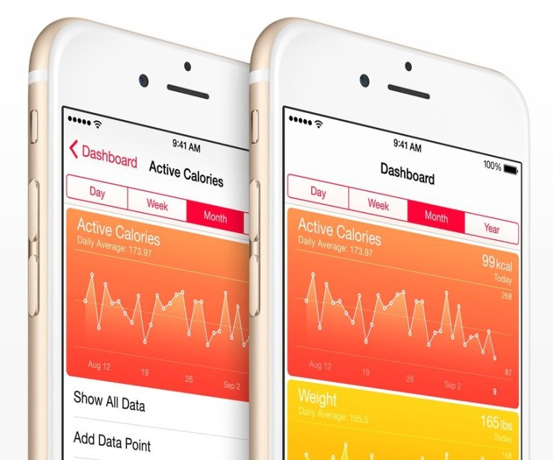 Apple's HealthKit won't be available to Android Wear customers any time soon. Photo: Apple
