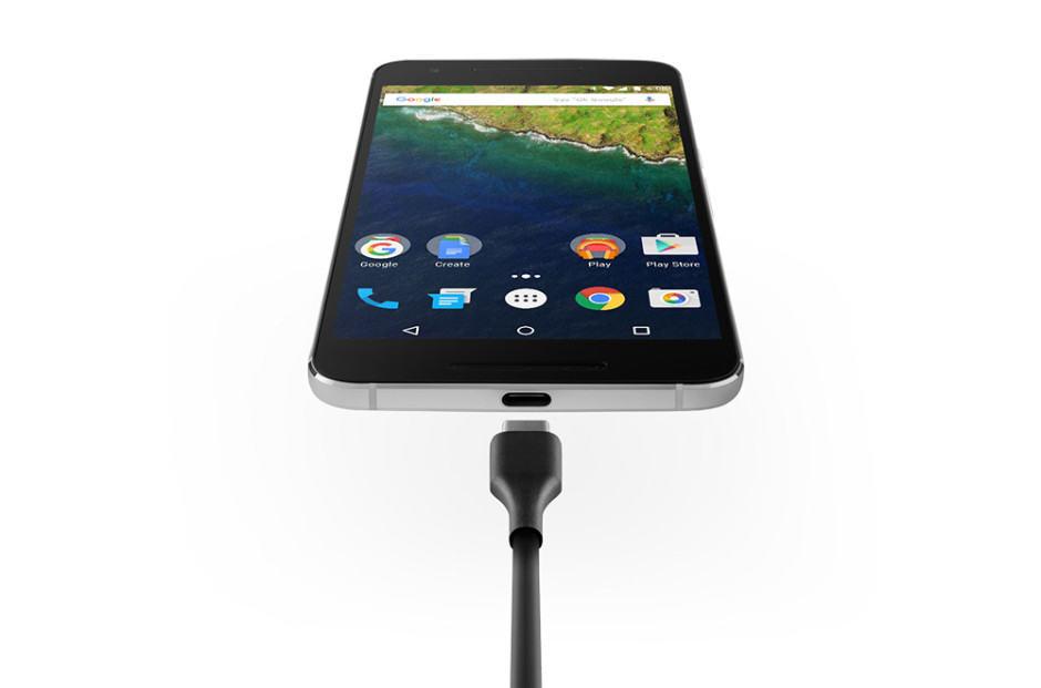 Nexus 6P has USB-C connectivity. Photo: Google
