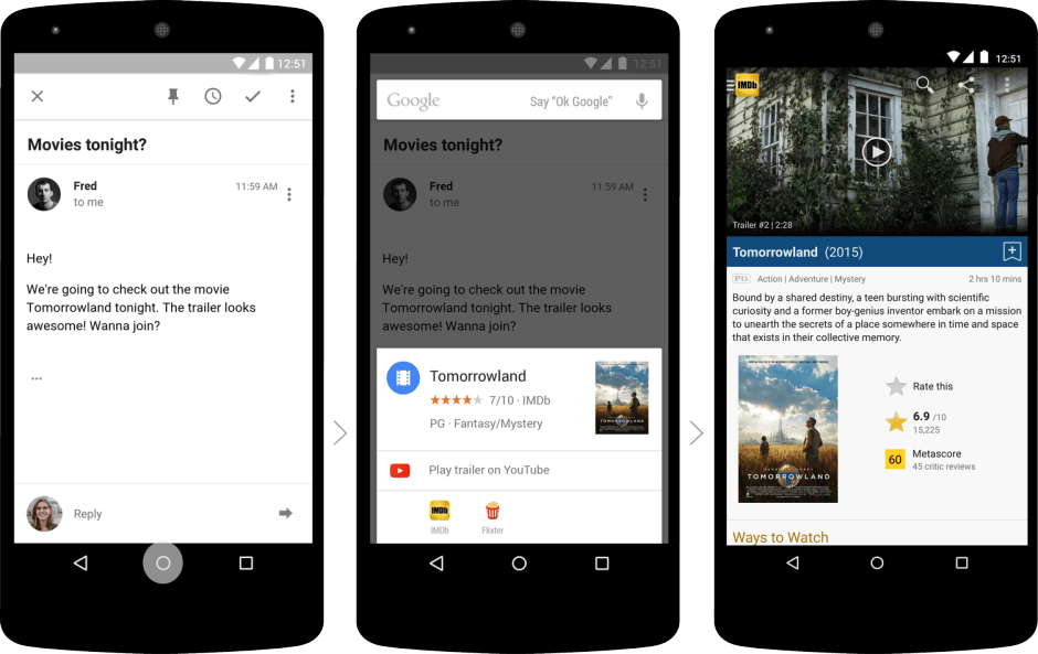 Final Marshmallow preview gets Google Now on Tap