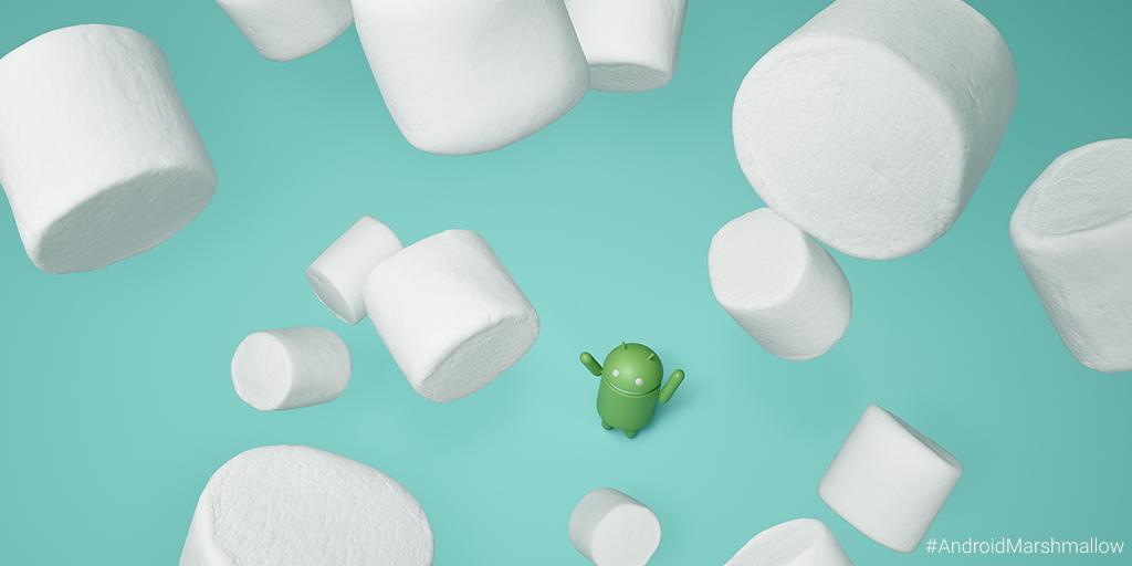 Google's Android Marshmallow is still some way behind Kit Kat. Photo: Google