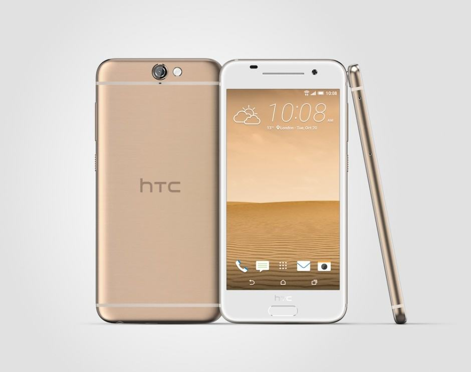 HTC's new flagships certainly looks familiar. Photo: HTC
