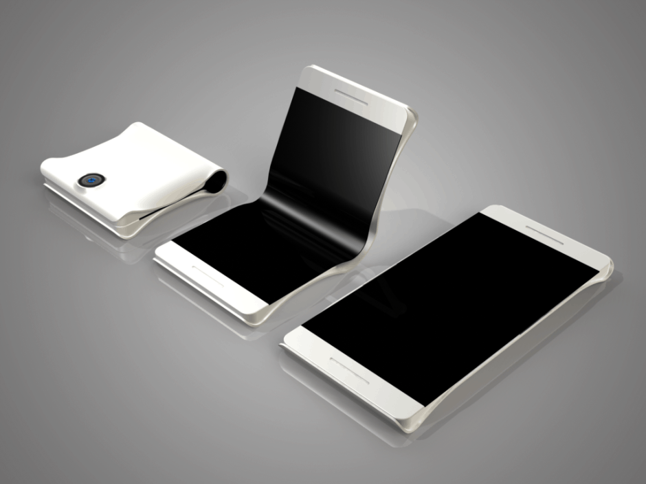 Will Samsung's folding phone be as pretty as this concept? Photo: Max Borhof