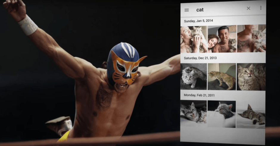 Google Photos' recognition features are the star of its new ad. Photo: Google