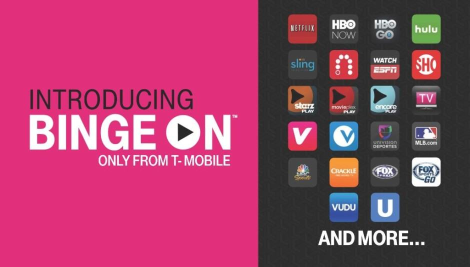 Watching Netflix no longer counts against your data on T-Mobile.