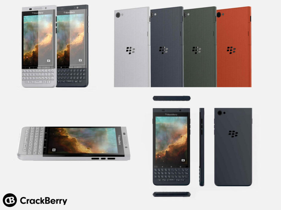 BlackBerry is clinging onto that physical keyboard. Photo: CrackBerry