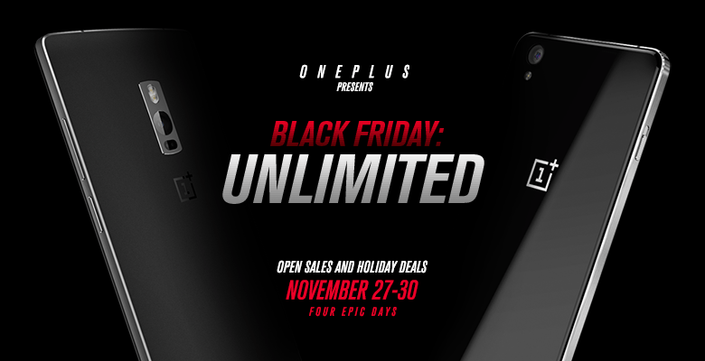 OnePlus is going all out for Black Friday. Photo: OnePlus