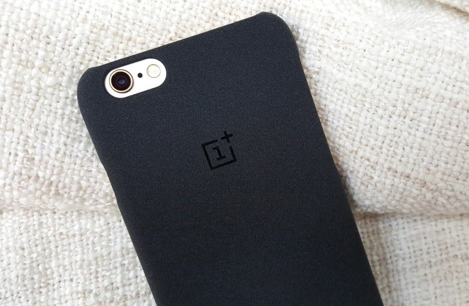 The OnePlus iPhone case has a grippy sandstone finish. Photo: Killian Bell/Cult of Android