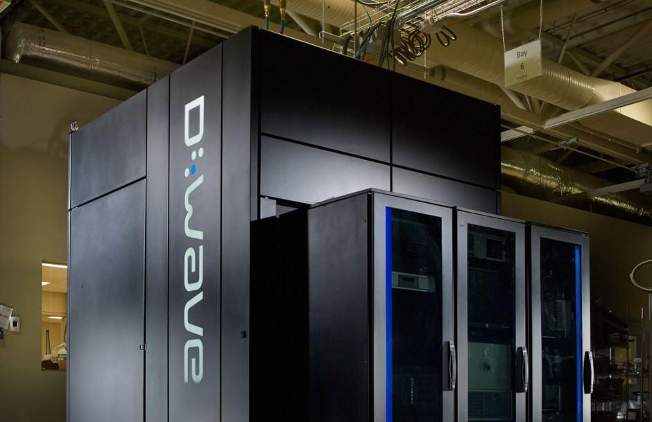 DWave 2 quantum computer
