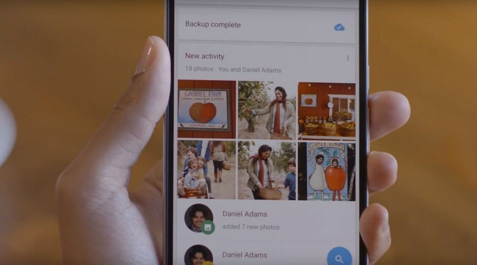 Google Photos makes sharing simple. Photo: Google
